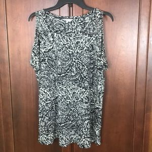 Lucky Brand Cold Shoulder 1X